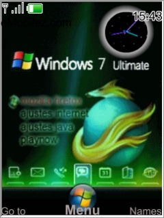 Windows 7 Mobile Theme