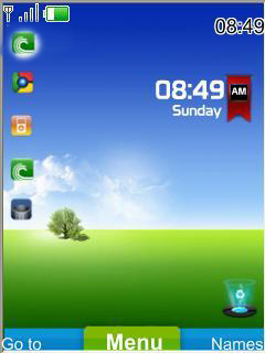 Windows 8 Beta Mobile Theme