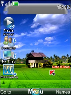 Windows Vista Mobile Theme