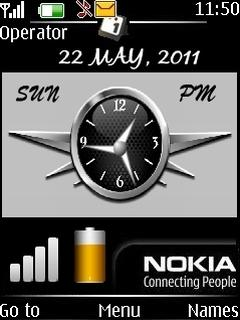 Download Nokia Clock Nokia Theme | Mobile Toones