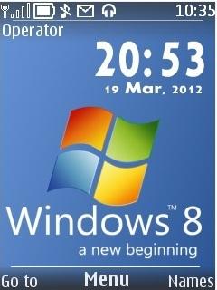 Windows 8 Mobile Theme
