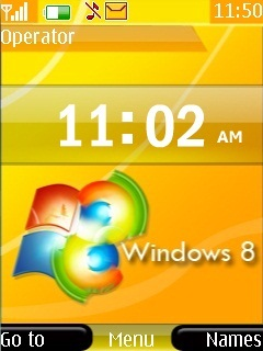 Windows 8 Mobile Theme