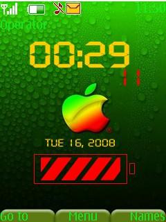 Apple Mac Mobile Theme