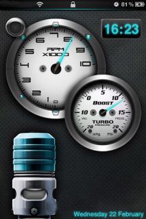 Ls Turbodump Sd HD Mobile Theme
