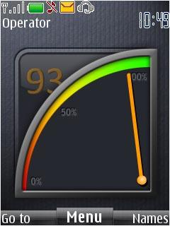 Iphone Battery Mobile Theme