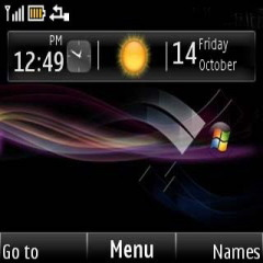 Windows Mobile Theme