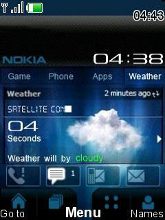 Nokia Tunning Mobile Theme