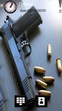 Gun Bullets Mobile Theme