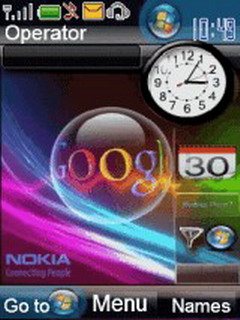 Windows Mobile Google Mobile Theme