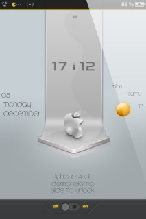 LS Silver Apple  Mobile Theme