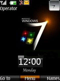 3D Windows 7 Mobile Theme