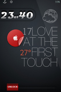 LS Apple Tomato IPhone Theme Mobile Theme