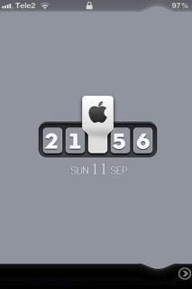 LS Block Clock IPhone Theme Mobile Theme
