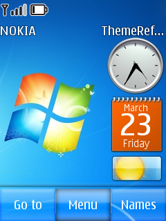 Windows S7en S40 Theme Mobile Theme