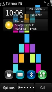 Lumia Colors Design S60v5 Theme Mobile Theme