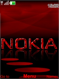 Red Nokia S40 Theme Mobile Theme