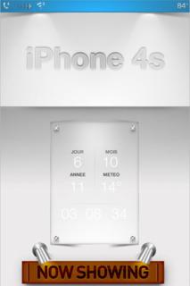 White Ls IPhone 4s Theme Mobile Theme