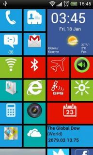 Windows 8 Startup Colors Android Theme Mobile Theme