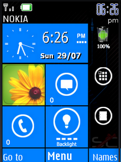 Lumia Nokia Clock S40 Theme Mobile Theme