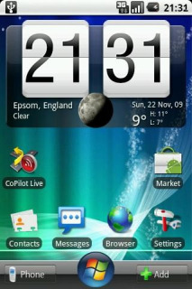 Windows Se7n Clock Android Theme Mobile Theme