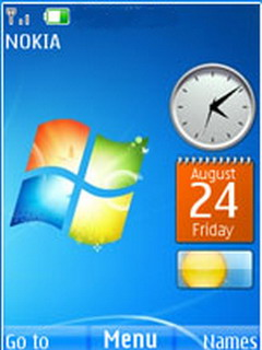 Windows 7 Icons S40 Theme Mobile Theme