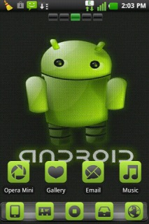 Android Green For Android Theme Mobile Theme