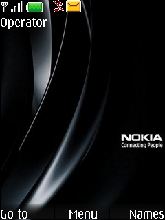 Black Nokia S40 Theme Mobile Theme