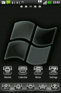 Windows S7en For Android Theme Mobile Theme