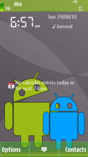 Android Happy S60v5 Nokia Theme Mobile Theme