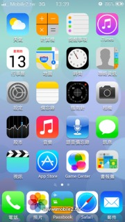 IOS7 Icons Simple IPhone Theme Mobile Theme