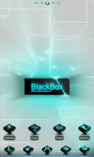 Blackbox Blue For Android Theme Mobile Theme