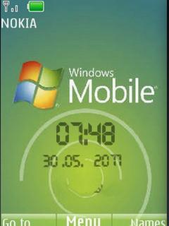 Windows Mobile Nokia Clock Theme Mobile Theme