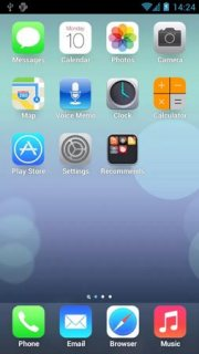 IOS7 Icons Simple For Android Theme Mobile Theme