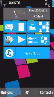 Windows Lumia Colors S60v5 Theme Mobile Theme