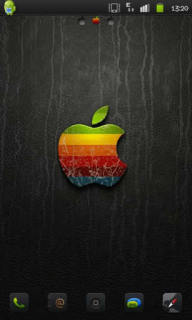 Black & Colors Apple IPhone Android Theme Mobile Theme