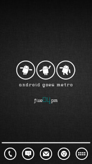 Android Goes Metro For Android Theme Mobile Theme