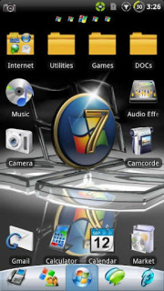 Windows S7en ICons For Android Theme Mobile Theme