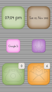 Widgets Clock Colors Android Theme For Smartphones Mobile Theme