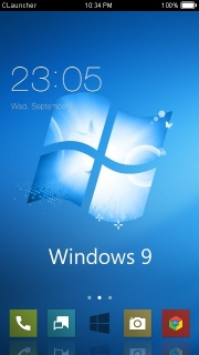 Windows 9 Lovely Android Theme Mobile Theme