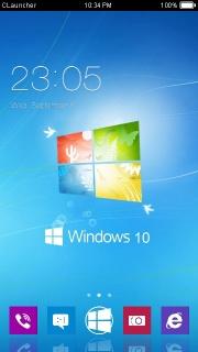 Windows 10 Android Theme Mobile Theme