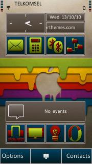 Mac Colors Apple S60v5 Theme Mobile Theme