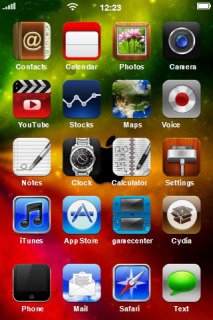 Apple Colors ICons IPhone Theme Mobile Theme