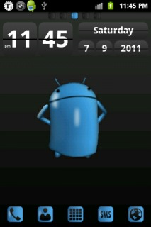 Android Blue Free Android Theme Mobile Theme