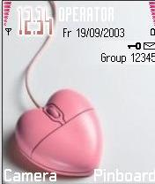Pink Mouse Mobile Theme