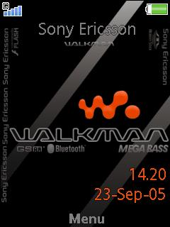 Walkman 2009 Mobile Theme