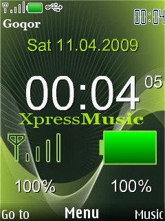 Xpress Music Mobile Theme