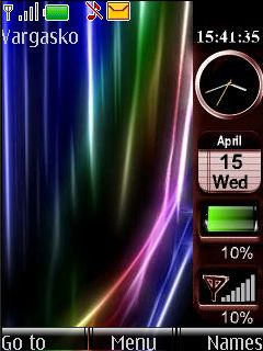 New Vista Widgets Mobile Theme