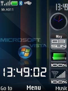 Vista Nokia Mobile Theme