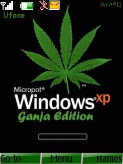 XP Ganja Edition Mobile Theme