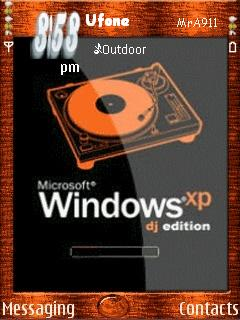 Dj Xp Mobile Theme